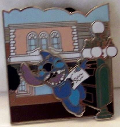 Disney Parks Adventure Series Stitch Main St Opera House Pin New Front