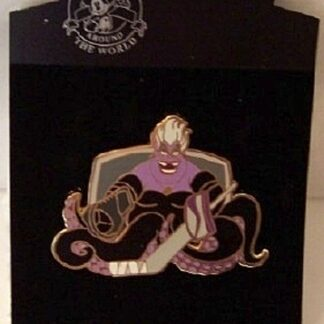 Disney Villain Ursula Plays Hockey LE 500 Jumbo Pin New On Card Front