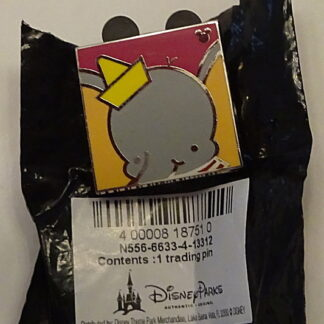 Disney WDW Dumbo Hidden Mickey Completer 2013 PWP Pin New With Bag