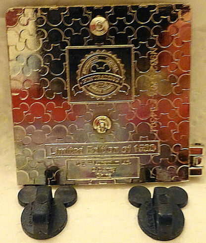 Disney WDW Star Tours 25th Anniversary LE Hinged Pin New Back