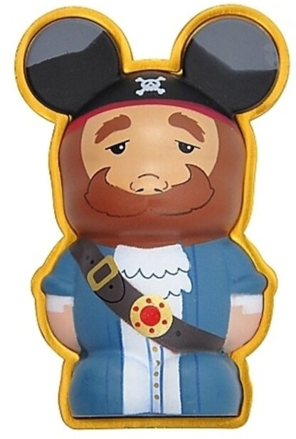 Pirates Caribbean Vinylmation 3D Pin Disney Auctioneer New Stock Photo