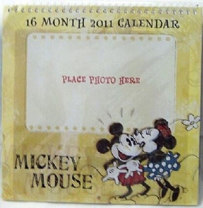 Disney Mickey Mouse 2011 16 Month Calendar New In Pack Front