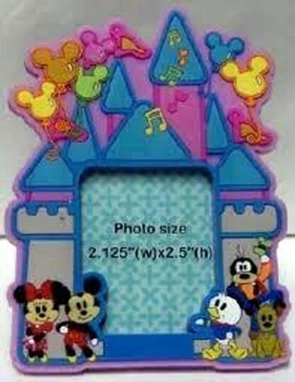 DISNEY MICKEY, MINNIE, & GANG CUTIES PHOTO FRAME MAGNET Front