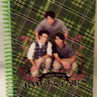 Disney Jonas Brothers Green Journal Front