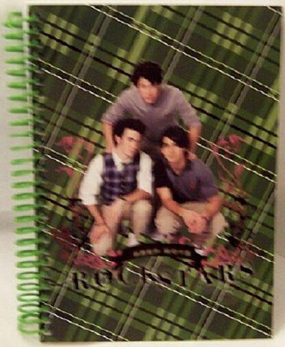 Disney Jonas Brothers Green Journal Front
