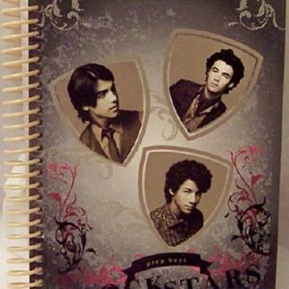 Disney Jonas Brothers Prep School Rock Stars Black & White Journal Front