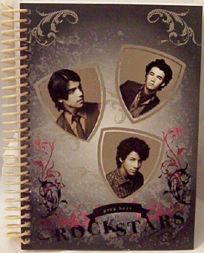 Disney Jonas Brothers Prep School Rock Stars Black & White Journal Front