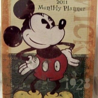 Disney Mickey Mouse 2011 Monthly Planner New Front