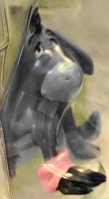 Disney Winnie the Pooh Eeyore 2 Inch Figurine New In Pack Closeup 2