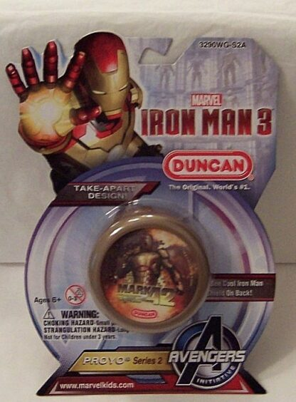 Marvel Avengers Iron Man 3 Duncan Mark 42 Proyo Yo-yo New Front