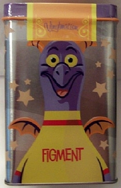 Disney Parks Vinylmation Park Starz Series 1 Figment 3 Inch Figure New In Tin 4