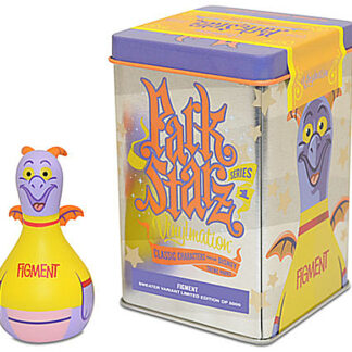 Disney Parks Vinylmation Park Starz Series 1 Figment 3 Inch Figure New Stock Photo Of Figure And Tin