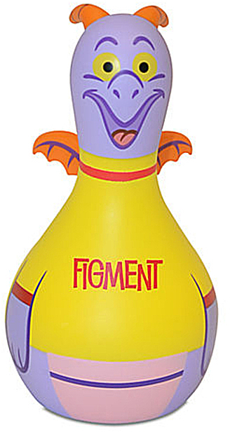 Disney Parks Vinylmation Park Starz Series 1 Figment 3 Inch Figure New Stock Photo Of Figure Front