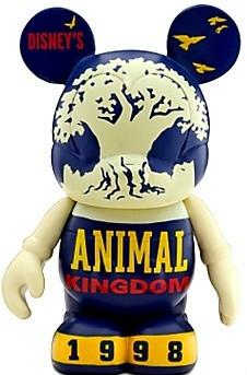 Disney Vinylmation Celebrating 40 Years Of Magic Animal Kingdom Figure New Out Of Box Front Stock Photo