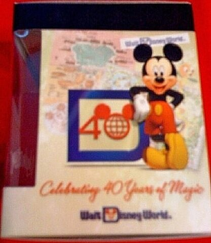 Disney Vinylmation Celebrating 40 Years Of Magic Epcot Figure New In Box Side 1