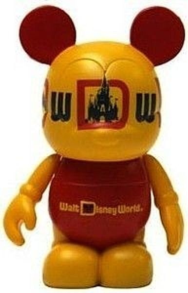 Disney Vinylmation Celebrating 40 Years Of Magic WDW Collectible Figure Out Of Box Front Stock Photo