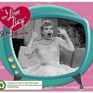 I Love Lucy 60th Anniversary 2011 Box Calendar by Year in a Box New Front