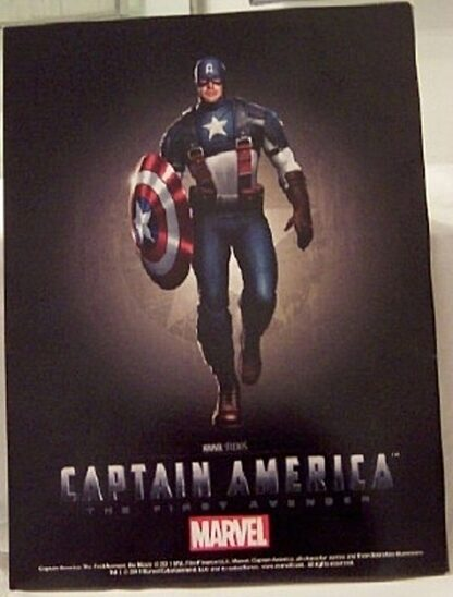 Marvel Captain America The First Avenger Official Movie Magazine New Back