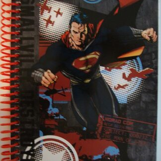 Superman Man Of Steel Smallville Destroyed DC Comics Notebook New Front