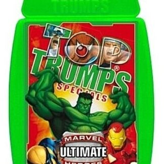 Top Trumps Marvel Ultimate Heroes War Card Game New In Pack Front