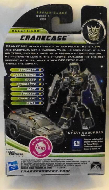 Transformers Dark Of The Moon Crankcase Decepticon Figure Back