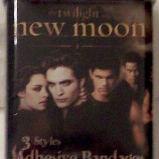 Twilight New Moon Adhesive Bandages #24 In Collectible Tin New Front