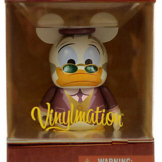 Disney Ludwig Von Drake Mechanical Kingdom Series Vinylmation 3 Inch Figure New In Box Front