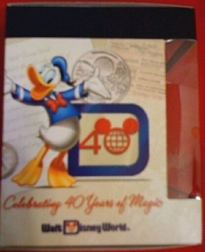 Disney Vinylmation Celebrating 40 Years Of Magic 1971 New In Box Side 2