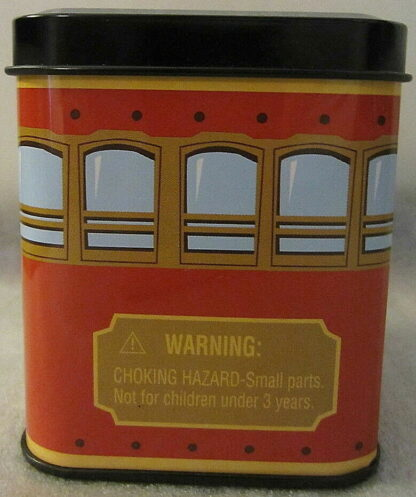 Disney Vinylmation San Francisco Red Trolley 3'' Figure New 5