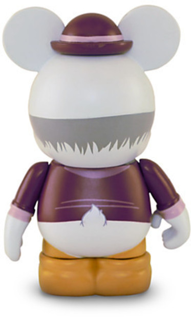 Disney Ludwig Von Drake Mechanical Kingdom Series Vinylmation 3 Inch Figure Stock Photo Out Of Box Back