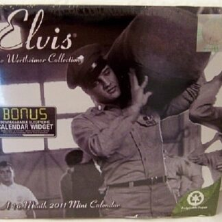 Elvis 2011 Wertheimer Collection 16 Month Mini Calendar New Front