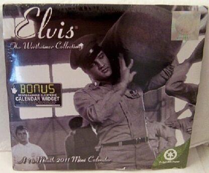 Elvis 2011 Wertheimer Collection 16 Month Mini Calendar New Front
