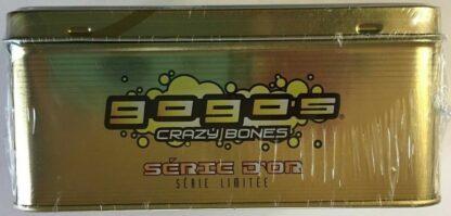 GoGo's Crazy Bones Collectors Tin Gold Series LE Part 1 New Side 1