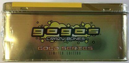 GoGo's Crazy Bones Collectors Tin Gold Series LE Part 1 New Side 3