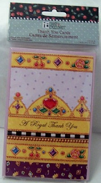 Mary Engelbreit A Royal Thank You #8 Cards New Front