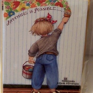Mary Engelbreit Anything Is Possible Notecards New Front