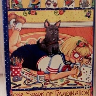 Mary Engelbreit One Spark Of Imagination Journal New Front