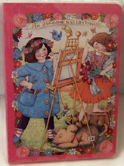 Mary Engelbreit To Imagine Is Everything Journal New Front