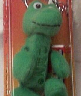PEZ Petz Safari Babies Gator Candy Dispenser And Key Chain New Front