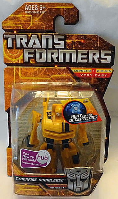 Transformers Cyberfire Bumblebee Camero Concept Autobot Figure New In Pack Front