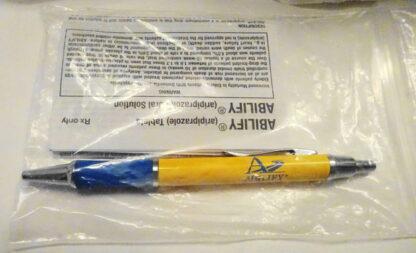 Abilify Drug Rep Logo #1 Pen New