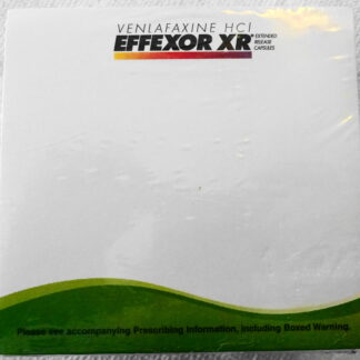 Effexor XR Wyeth Pads 10 Pack New Top - Bottom Looks Same