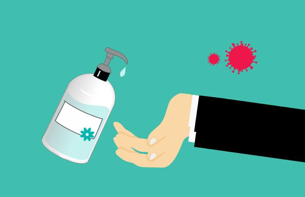 hand sanitizer coronavirus