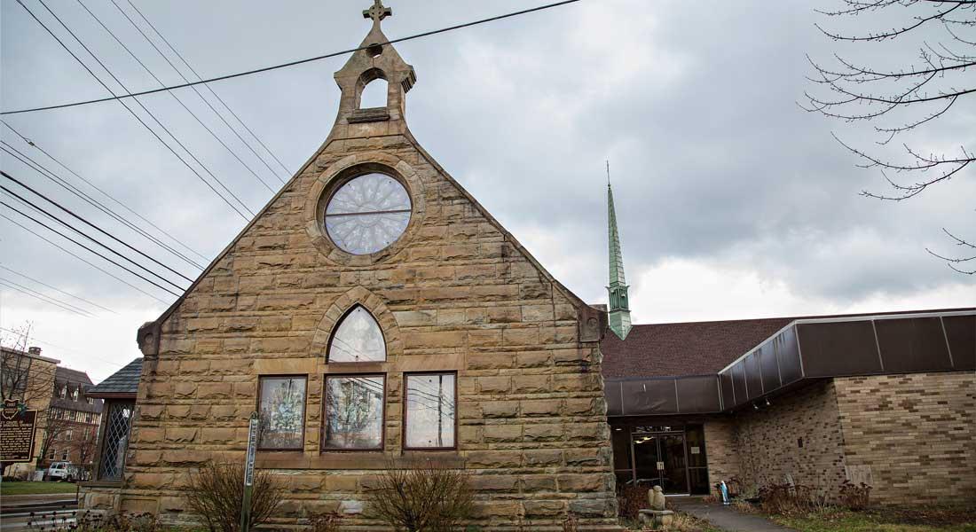 St. Thomas Episcopal Church, the old church