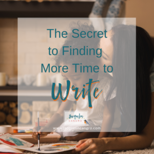Find More Time to Write