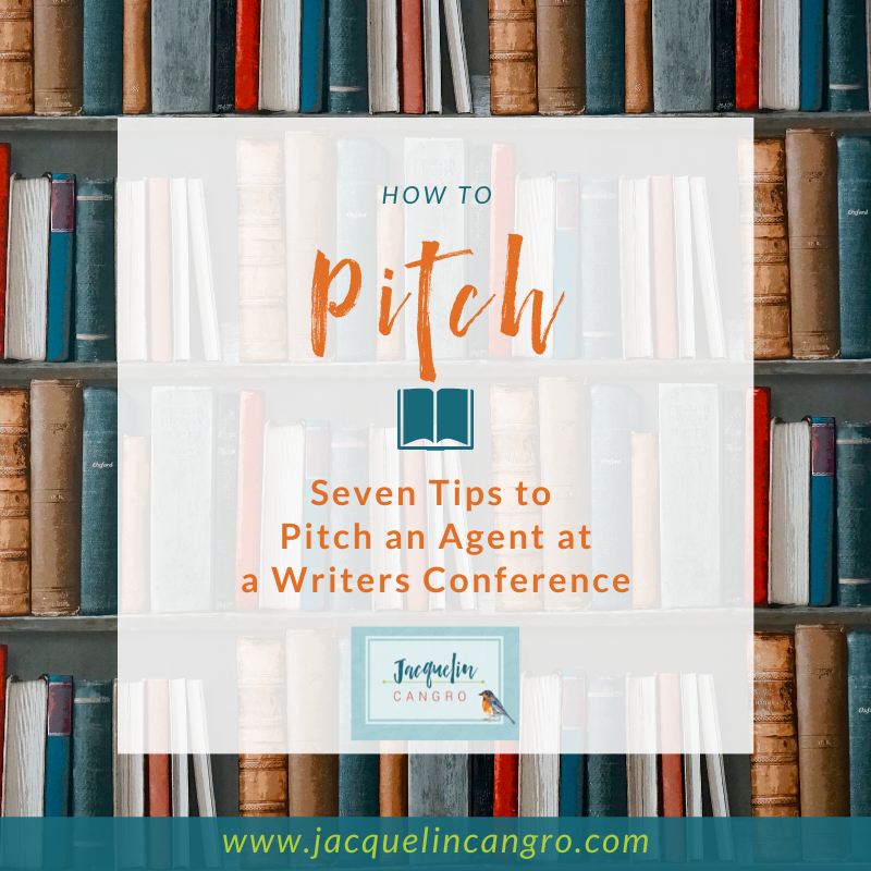 How to pitch an agent at a writers conference
