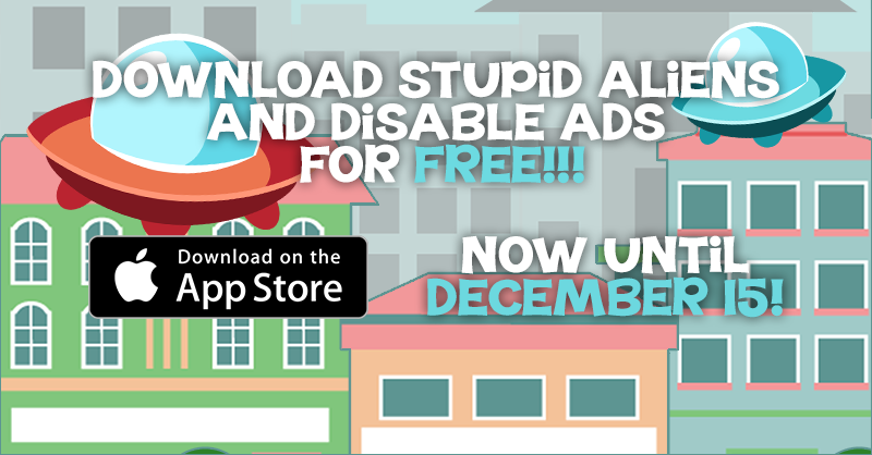 Stupid Alens - Disable Ads Free Promo