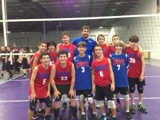 14U National team win Adversity Tournament November 3, 2012