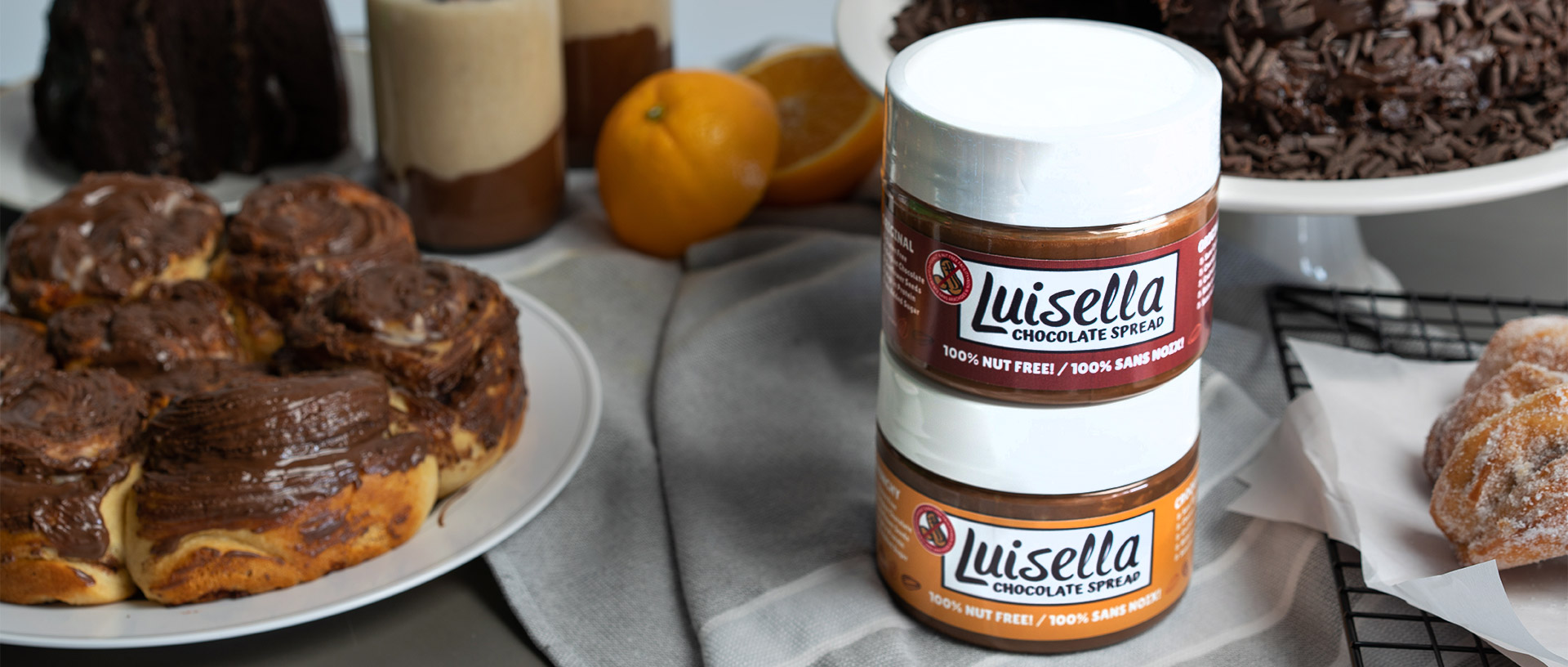 Luisella Chocolate Spread | 100% Nut Free Spread