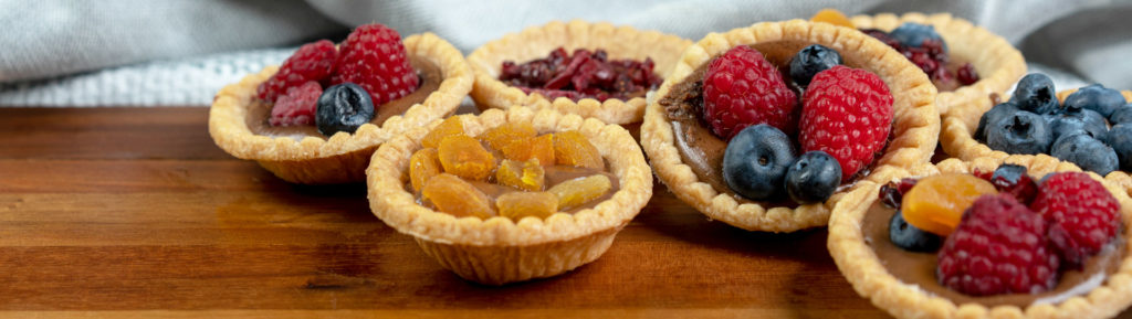 luisella filled fruit tart cups